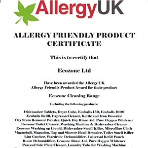 Allergy UK Friendly Approved