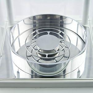 grid pan semi microbalance analytical balance scale radwag weighing pan