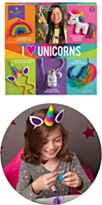 unicorn crafts for kids rainbow magic play necklace crafts for kids ages 7 8 9 10