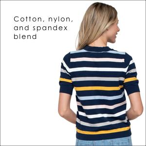 cotton nylon and spandex blend fabric