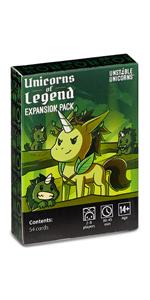 Unstable Unicorns Unicorns of Legend