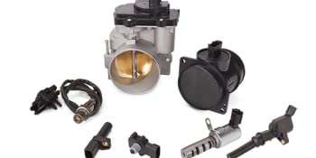 engine management, electronic throttle bodies, mass air flow sensor, ignition