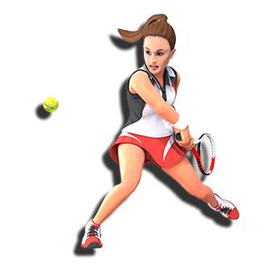 オリンピック 競技 テニス スマッシュ ボレー サーブ レシーブ ラケット ライジング ワンボタン
