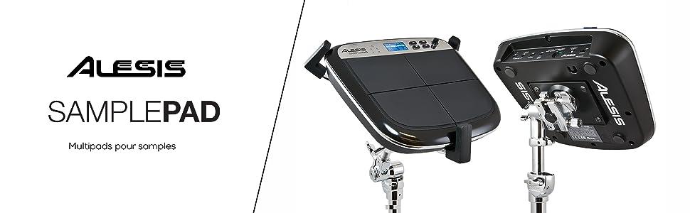 Alesis  SamplePad MultiPad de Batteries Electronique Sons de Kit Batterie Accessoires batterie PADS