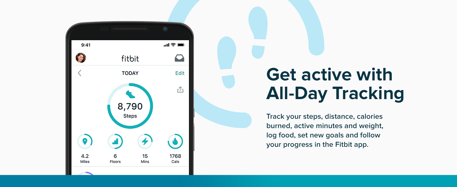 Fitbit Charge 4 - Get active with All-Day Tracking