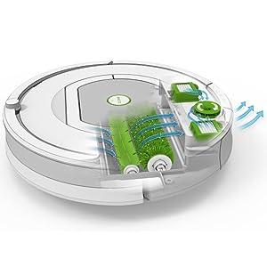 robot, aspirador, roomba, limpieza, inteligente, aerovac, hogar, programable
