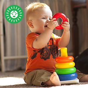 Un juguete Fisher-Price clásico que le ofrece muchas posibilidades para jugar