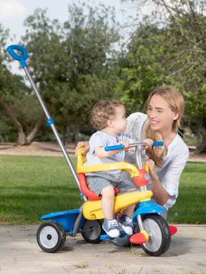 f55abd33a88 Amazon.com: smarTrike Breeze 3 in 1 Baby Tricycle, Yellow/Red/Blue ...