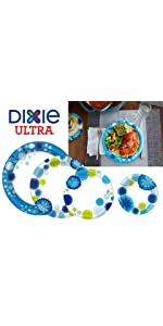 Dixie ultra, strong, paper plate