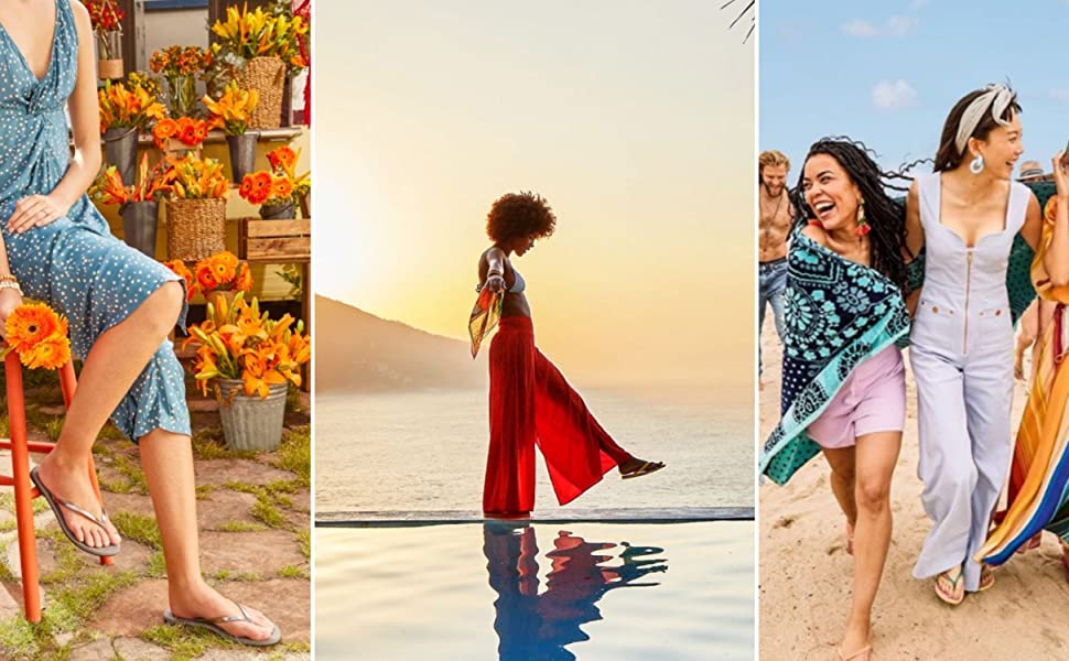 womens beach flip flop thong strap sandal
