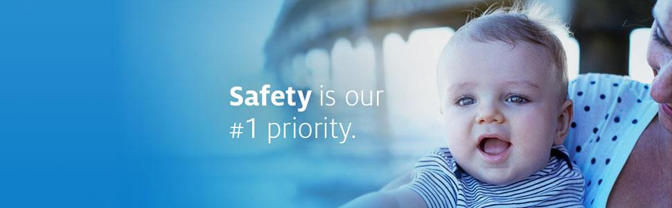 Johnson's Baby Banner - Safety is our #1 priority