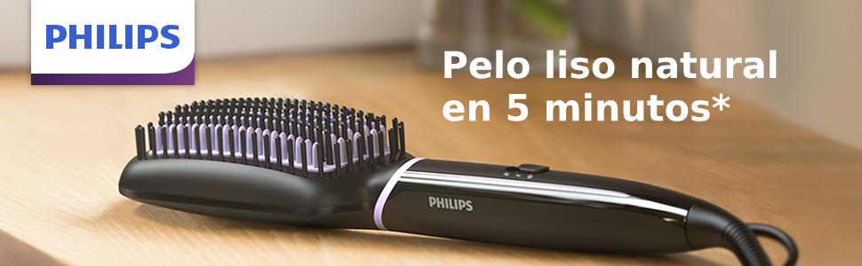 Philips BHH880/00 - Cepillo alisador de pelo, cerámico para alisar ...