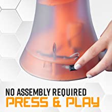 No assembly required press and play