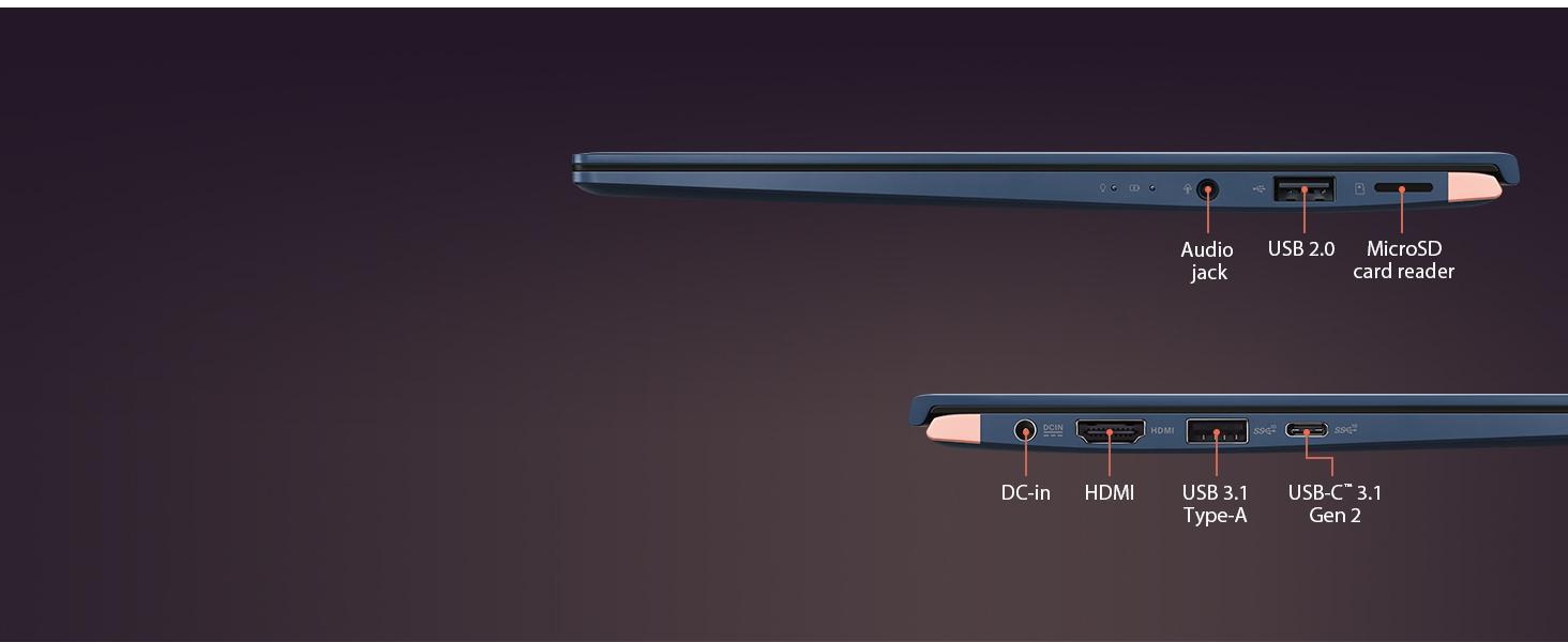 UX433 thunderbolt