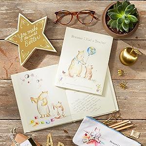 teacher, appreciation, honor, gratitude, gift book