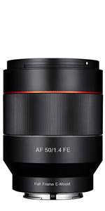 AF 50mm F1.4 FE