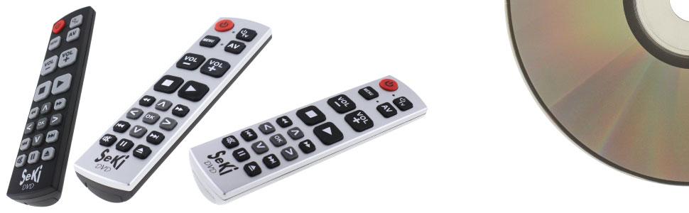 Universal Fernbedienung Seki Dvd Lernfähig F Kamera