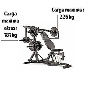 Marcy Pro PM4400 - Banco (Cinta Pectoral, 90 kg, Banco de ...