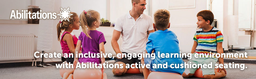 Create an inclusive, engaging learning environment with Abilitations active and cushioned seating.