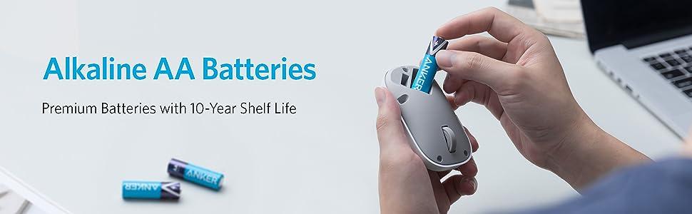 Anker AA Alkaline Batteries 4-pack Kenya