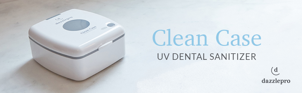 Clean Case UV Dental Sanitizer, Clean Case, UV Dental Sanitzer, Dazzlepro