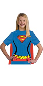 girls superman shirt