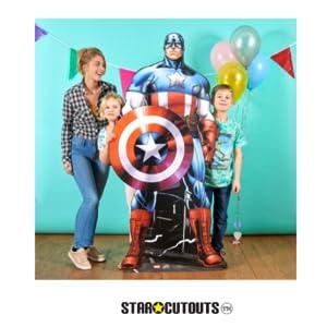 Capitán América fiesta
