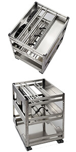 Undercounter Pull Out Cupboard Organiser