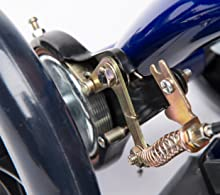KneeRover Knee Cycle offers a reliable drum brake technology