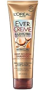Ever, loreal, sulfate free, shampoo