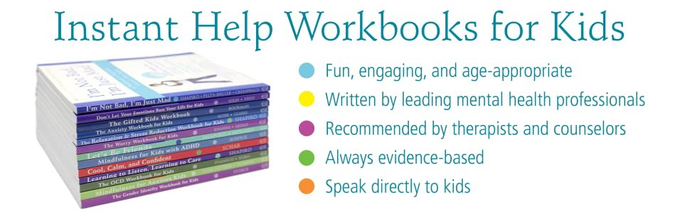 Our workbooks for kids are fun & engaging, recommended by therapists, and speak directly to kids.