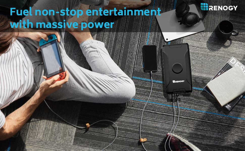 fuel non-stop entertainment with massive power