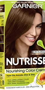 Amazoncom Garnier Nutrisse Nourishing Hair Color Creme 50 Medium