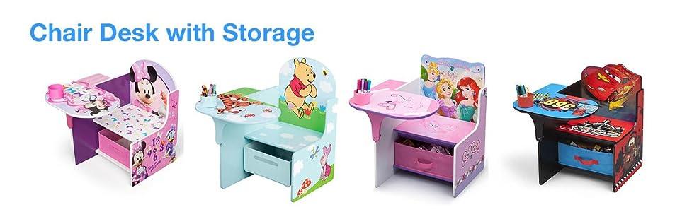 Disney Winnie the Pooh Chair Desk with Storage Bin Amazon