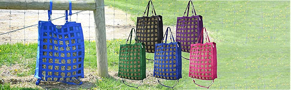 fe71c06124 Derby Originals Slow Feed Hay Bag with Newly Designed Super Tough Bottom