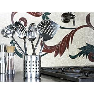 Set, stainless steel, kitchen, matching