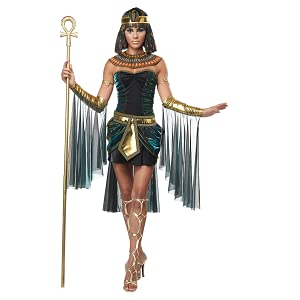 Costumes for Women, Egyptian Costume, Cleopatra, Anubis, Osiris, King Tut, Nefertiti, Bastet