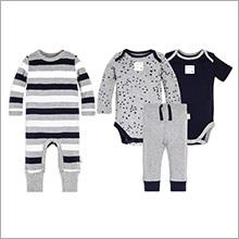 c588c3cbc Amazon.com  Burt s Bees Baby - Baby Boys  Romper Jumpsuit