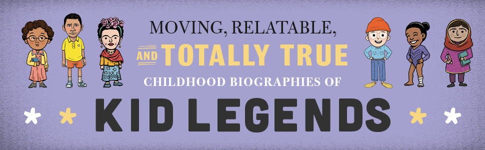 middle grade, biography, history, book report, educational book, inspiring stories, gifts for kids - Kid Presidents: True Tales Of Childhood From America's Presidents (Kid Legends)