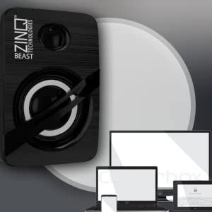 Zinq Beast Speakers Mini audio sound good