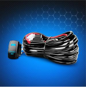 Amazon com Nilight LED Light Bar Wiring Harness Kit 14AWG
