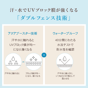 「ダブルディフェンス技術」の説明文とイラスト