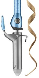 spring curling iron, wedding curls