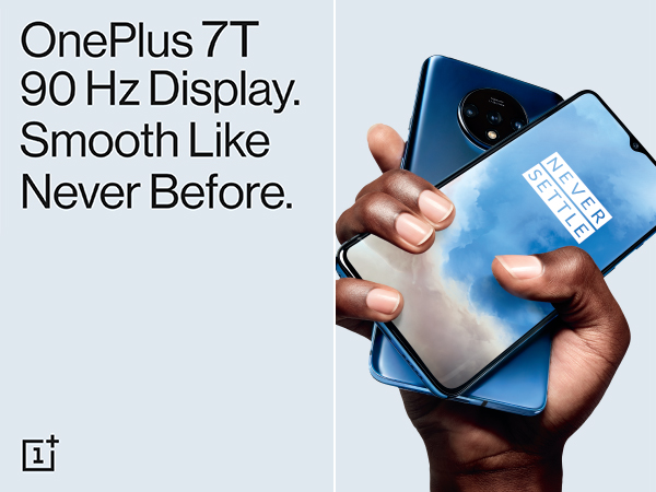 OnePlus 7T 90Hz Display Smooth like never before
