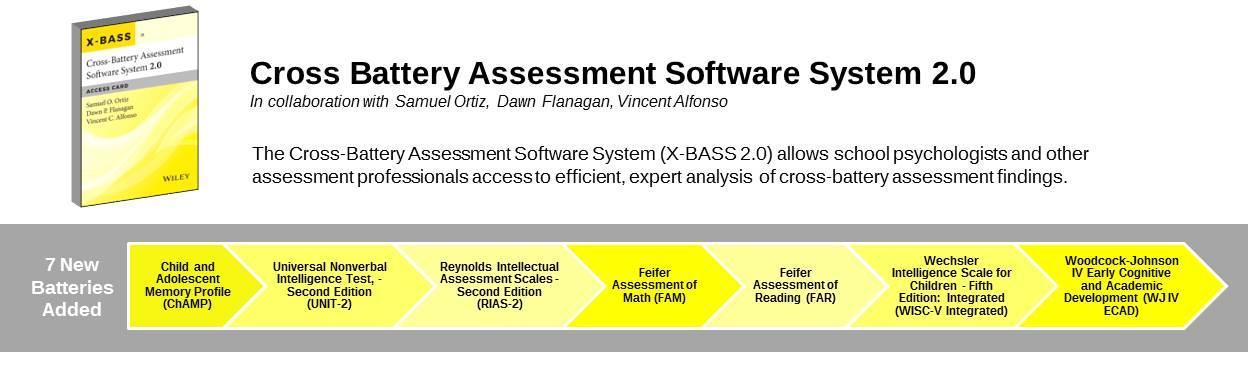 Amazon.com: Cross-Battery Assessment Software System 2.0 (X-BASS ...