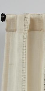 leaf print curtains, tropical curtains, long curtain panels, short curtain panels