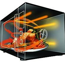 Daewoo KOR-6LBW - Microondas 20 litros digital sin grill, 800 W ...