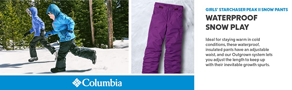 Columbia Girls' Starchaser Peak II Snow Pants