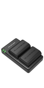 Amazon.com : NP-FW50 RAVPower Camera Batteries Charger Set ...