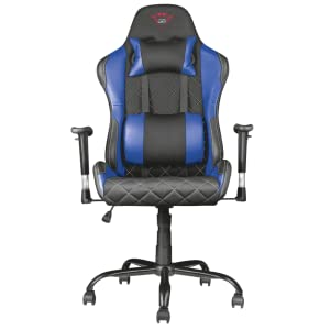 silla gaming azul